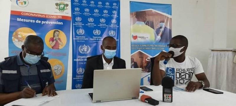 Covid-19 : L'OMS renforce les capacités de 90 radios de proximité de la plateforme Radio Santé Côte d'Ivoire