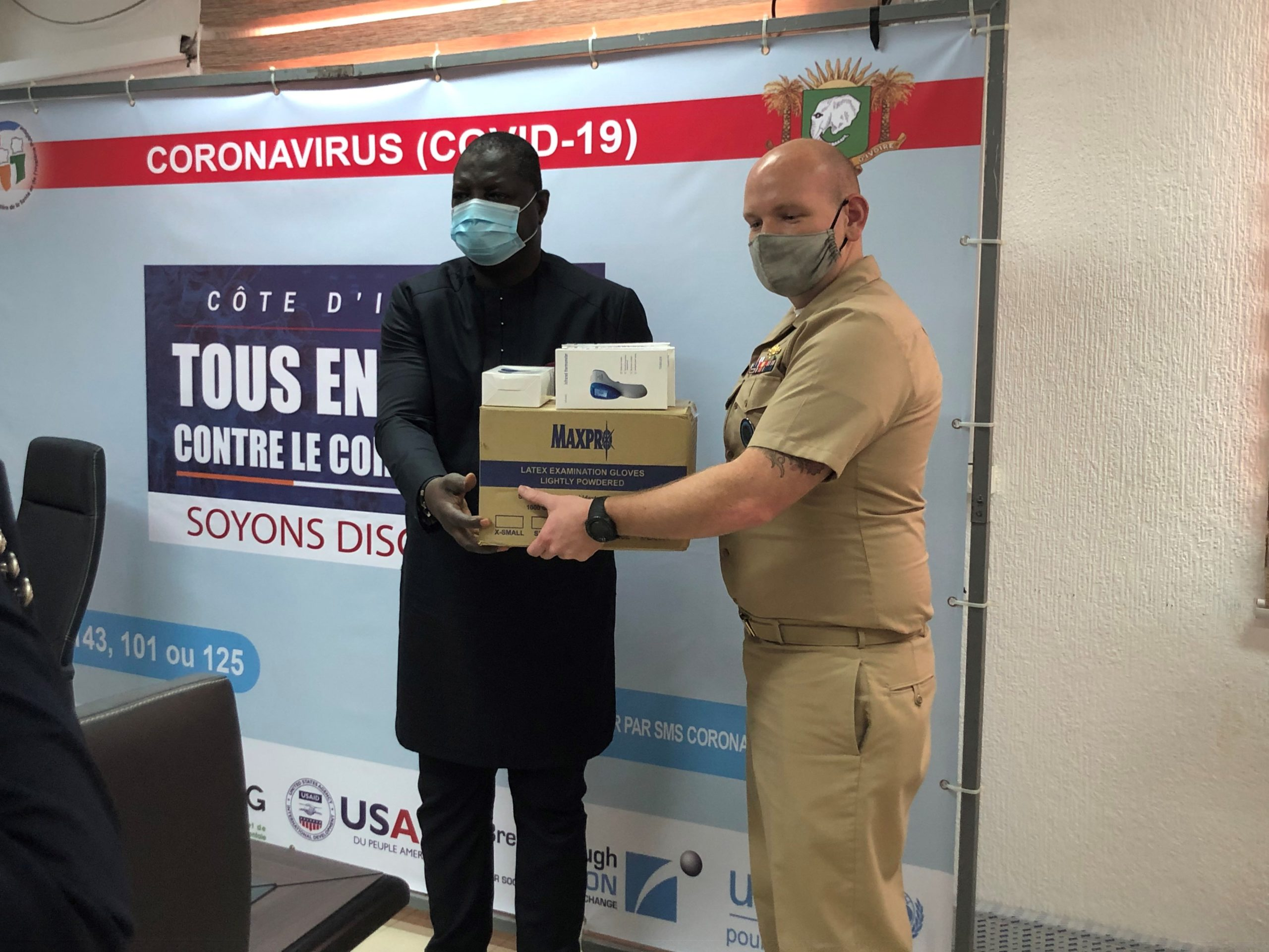 Côte d'Ivoire/Don du gouvernement des Etats-Unis à l'Institut National d'Hygiène Publique