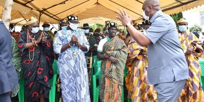 Côte d'Ivoire/Cohésion sociale : Hamed Bakayoko exhorte les populations de Daoukro à cultiver la paix
