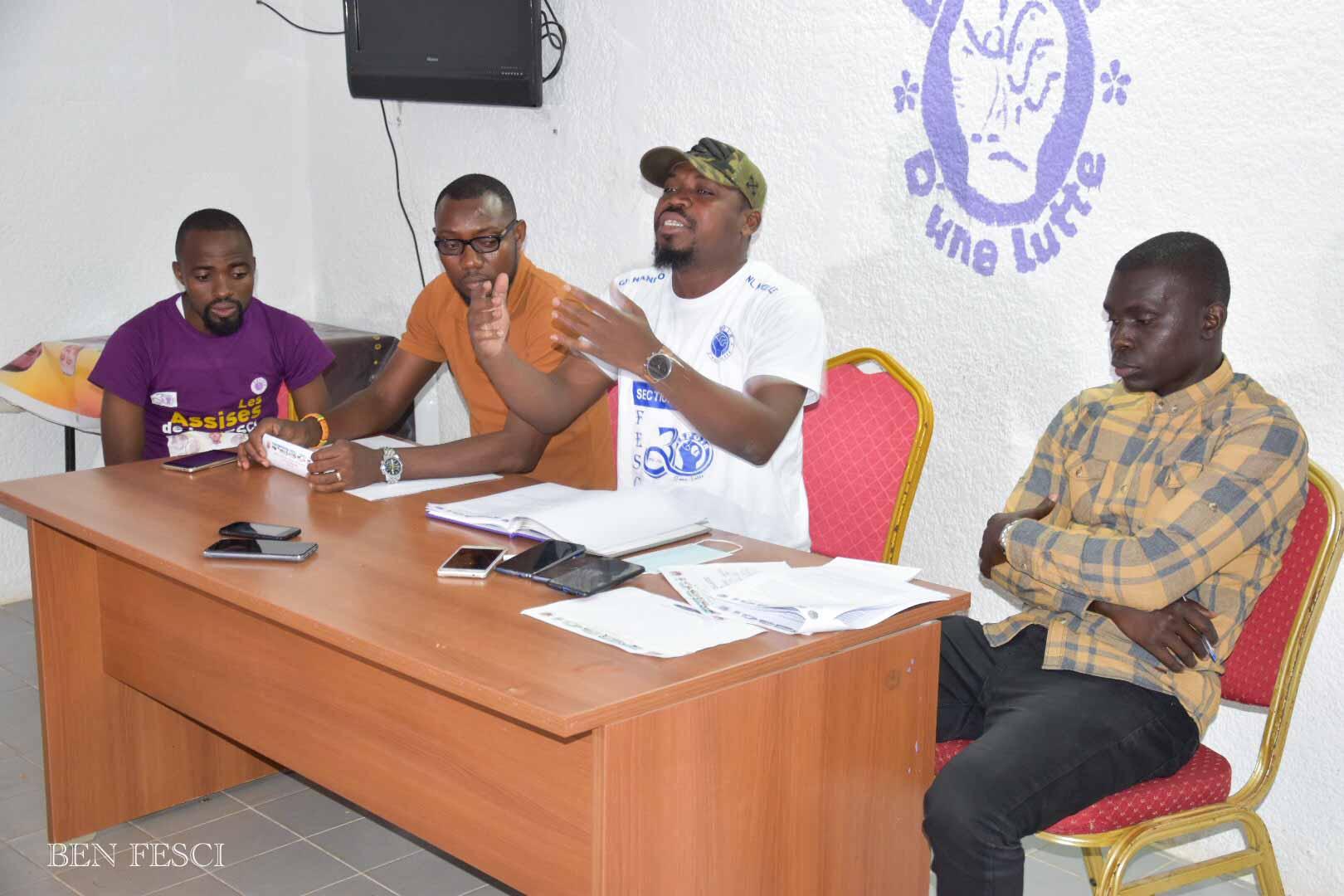 Côte d'Ivoire /La Fédération Estudiantine et Scolaire de Côte d'Ivoire ( FESCI) donne 72 heures pour la résolution de ces problèmes cités plus haut - MEDIA DIVERSITY