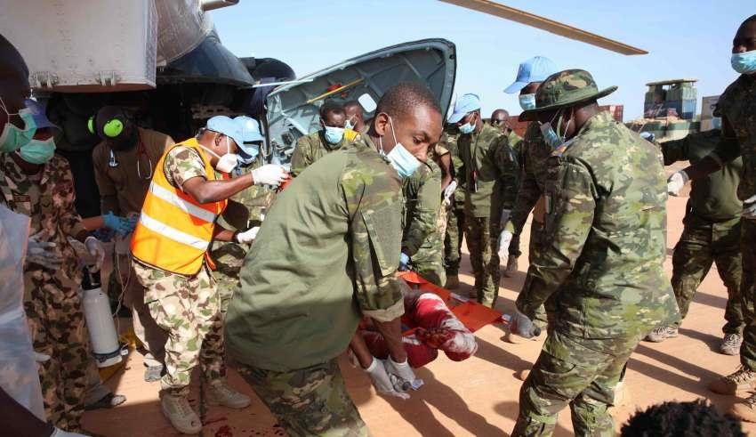 MALI / MINUSMA a été l'objet d'une attaque de Groupe Armée Terroriste