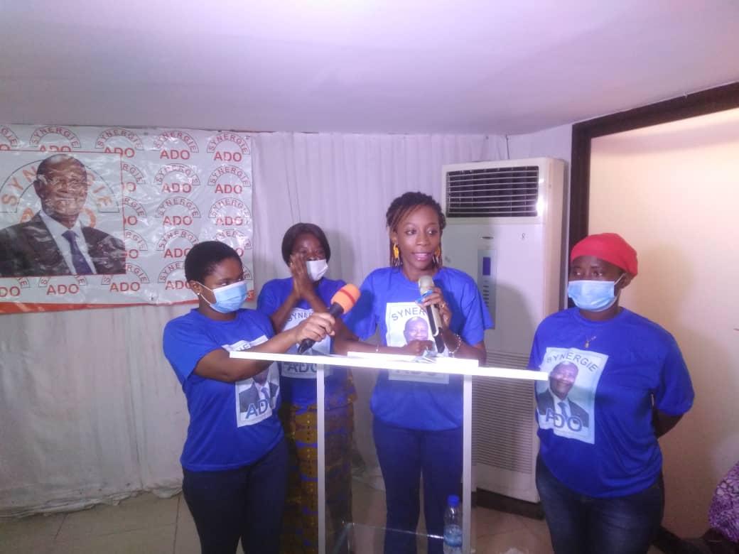 CÔTE D'IVOIRE / SYNERGIE ADO SOUTIENT LES FEMMES CANDIDATES RHDP AUX ELECTIONS LÉGISLATIVES DE MARS 2021.