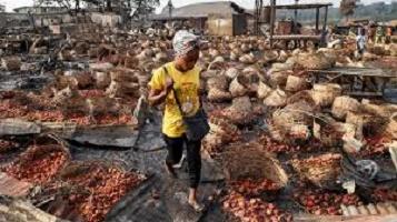 Nigeria: violences ethniques à Ibadan, un marché totalement ravagé