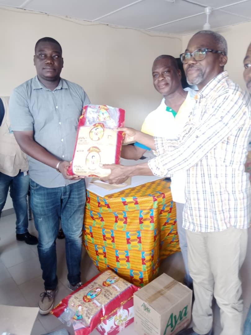 Côte d'Ivoire : Le Haut Commissariat des Réfugiés des Nations Unies et la Fondation  » Notre Toumodi Demain  » soulagent les sinistrés de Toumodikro