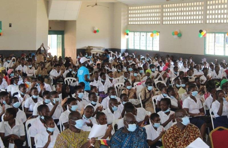 Migration irrégulière : La Caravane de sensibilisation de masse du Réseau ouest-africain de lutte…fait escale à Yopougon-Kouté
