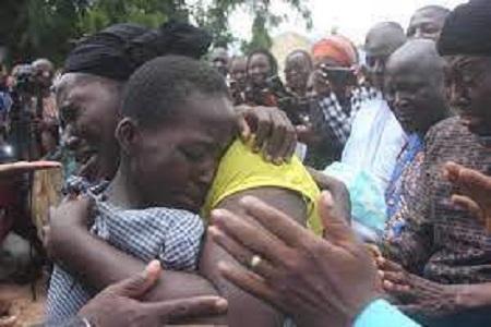 Nigeria : Des enfants kidnappés retrouvent leurs parents