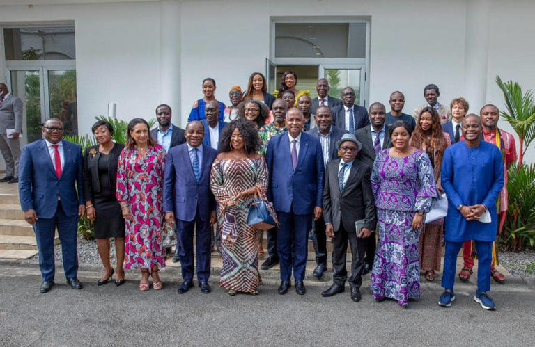Côte d'Ivoire/ Le premier Ministre Patrick Achi donne de l'espoir aux acteurs de la filière cinématographique