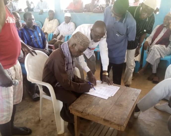 Côte d'Ivoire / Touba: Un mémorandum d'entente entre populations autochtones et allogènes a été signé à Mahanan