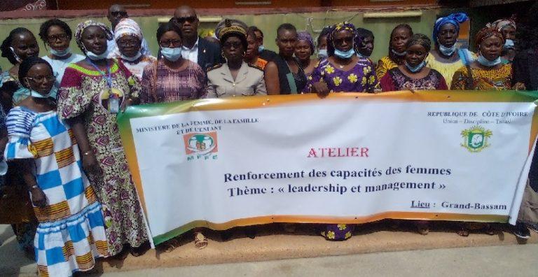Côte d'Ivoire / Le MFFE forme les femmes de Grand-Bassam sur l'entrepreneuriat féminin